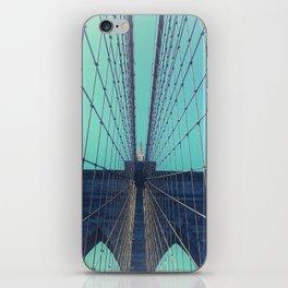 BROOKLYN BRIDGE - VINTAGE - FADED iPhone Skin