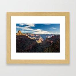 Canyon is grand Framed Art Print