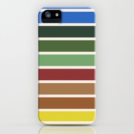 The colors of - Castle in the sky iPhone Case