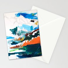 Flying Through the Mountains Stationery Cards