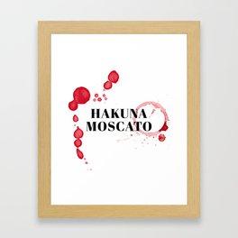 wine bar no. 6 Framed Art Print