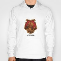 iphone 5 case Hoodies featuring Gryffindor iPhone 4 4s 5 5c, pillow, case by neutrone