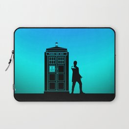 Tardis With The Twelfth Doctor Laptop Sleeve