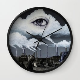 Ether Emission Wall Clock