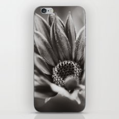 Flower in Black and White iPhone & iPod Skin