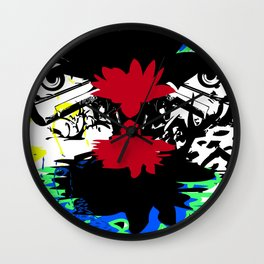 Dies in the desert Wall Clock