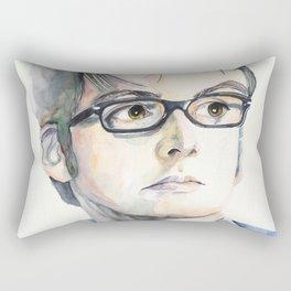 Tenth Doctor. David Tennant Rectangular Pillow