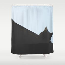 gat Shower Curtain
