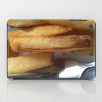 fries iPad Cases featuring Fries by Wild World Of Food