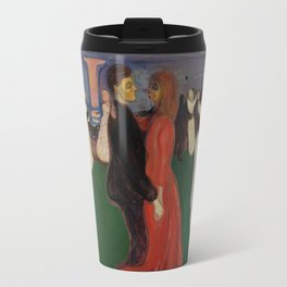 "Edvard Munch ""The Dance of Life"", 1899–1900 Travel Mug"