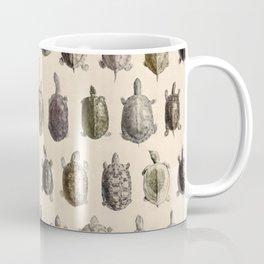 Vintage Turtles Pattern Coffee Mug