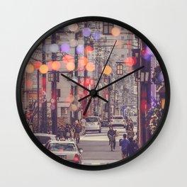 WILD JAPAN 24 Wall Clock