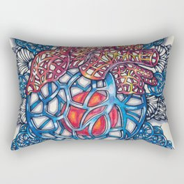 Cold Heart Rectangular Pillow