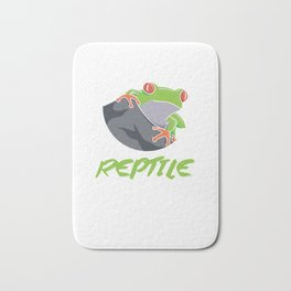 Certified Reptile Whisperer Reptile Reptilia Reptilian Cold Blooded Animal Gift Bath Mat