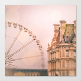 Mon Ami, Paris! Canvas Print