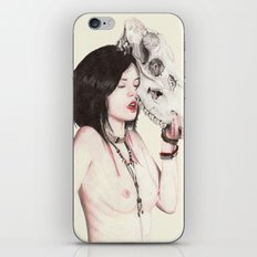 The Lady iPhone Skin