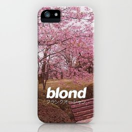 FrankOcean Blond iPhone Case
