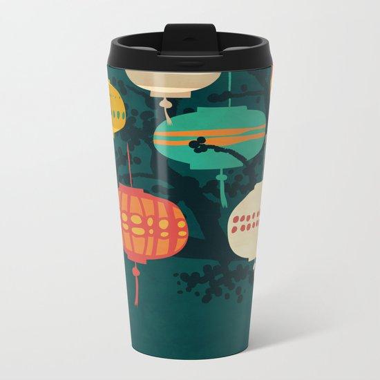 Lanterns Metal Travel Mug