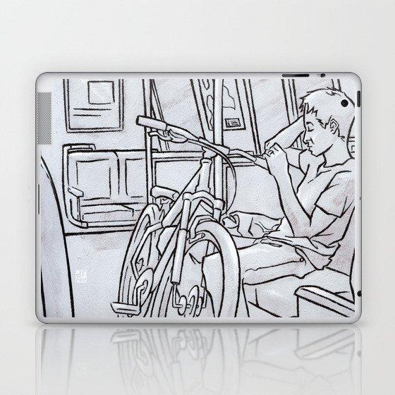 SUBWAY 5 Laptop & iPad Skin