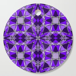 Violet Stained Glass Cutting Board