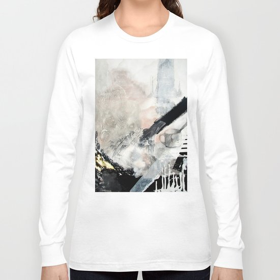 Saponification Abstraction Long Sleeve T-shirt