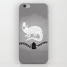 never trust a salamander.  iPhone & iPod Skin