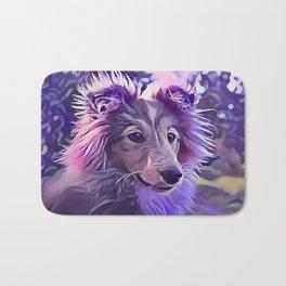 Shetland Sheepdog Puppy Bath Mat