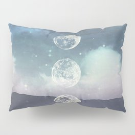 Rising Moon Pillow Sham