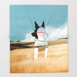 Wild Youth Throw Blanket