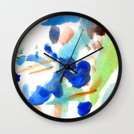 MAINLY BLUE Wall Clock