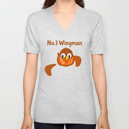 No.1 Wingman | Broken Wing Unisex V-Neck