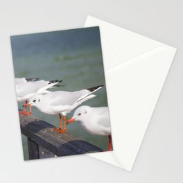 Seagulls II Stationery Cards