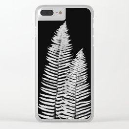 Pacific Northwest Silver Fern Forest Adventure Clear iPhone Case