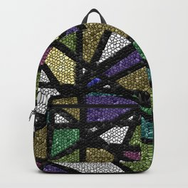 Stained Glass Mosaic Backpack