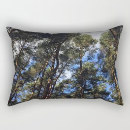 Canopy. Rushmere Park, Bedfordshire Rectangular Pillow