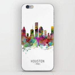 Houston Texas Skyline iPhone Skin