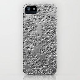 Damaged silver iPhone Case