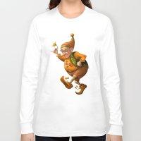 gnome Long Sleeve T-shirts featuring Gnome by Olga Shefranov