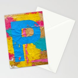 P - #1 Stationery Cards