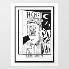 Some Nights  Art Print