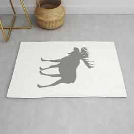 Moose: Grey Rug