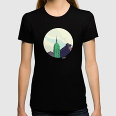 For Julia - NYC MEDIUM Womens Fitted Tee Black