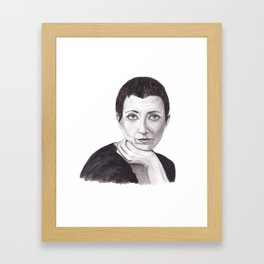 Helene Cixous Framed Art Print