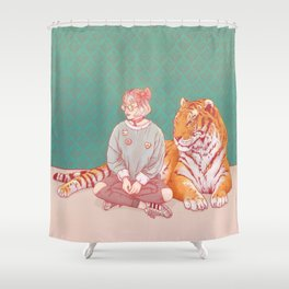 I'm a cat Lady Shower Curtain