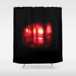 infra red Shower Curtain