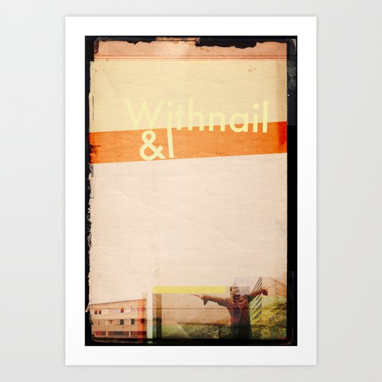 Withnail&I 4 Art Print
