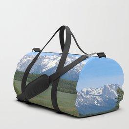 Snake River And Grand Teton Range Duffle Bag