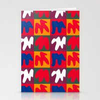 matisse Stationery Cards featuring M for Matisse by CHOCOLORS
