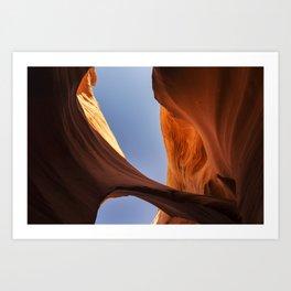 Rattlesnake Canyon, AZ - Bridge Art Print