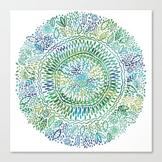 Intricate Nature  Canvas Print